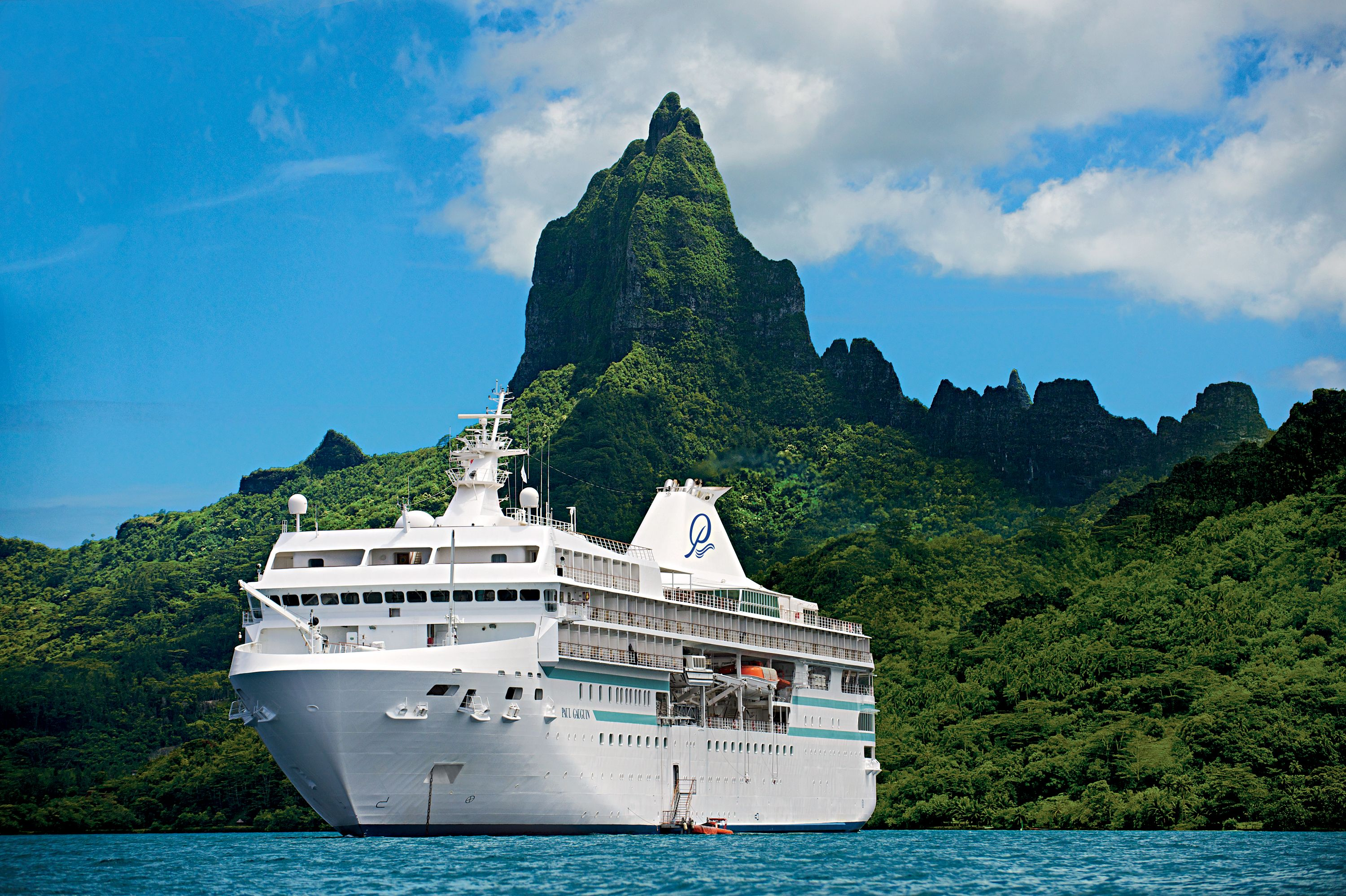 2019 Primary Image, Ship in Bora Bora, hi-res